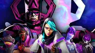Galactus with Fortnite Characters