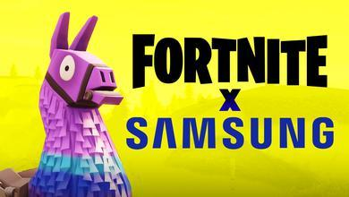 Fortnite X Samsung Partnership