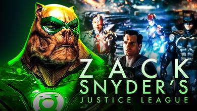 Kilowog, Justice League, Zack Snyder's Justice League logo
