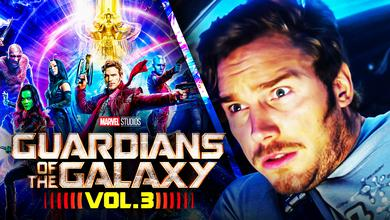 Chris Pratt's Star-Lord Guardians of the Galaxy Vol. 3