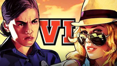 GTA 6 Logo Female Characters