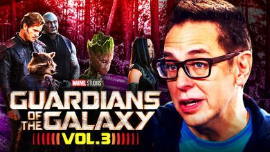 Guardians of the Galaxy Vol 3 Nebula Mantis James Gunn