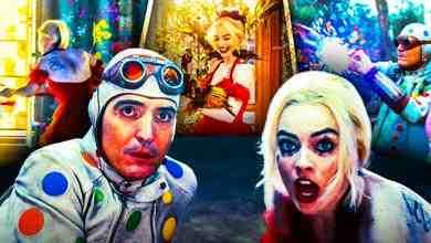 Harley Quinn Margot Robbie Suicide Squad Polka Dot Man