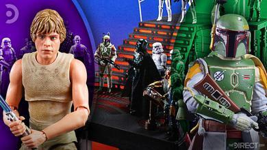 Hasbro Star Wars: The Black Series of Luke Skywalker, Boba Fett, and Darth Vader
