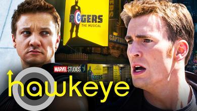 Hawkeye Chris Evans Steve Rogers Musical