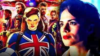 Hayley Atwell Captain Carter Avengers Infinity War poster