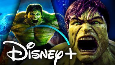 The Hulk, Disney+ logo