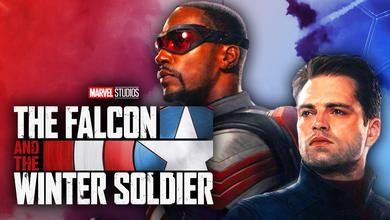 Anthony Mackie's The Falcon and Sebastian Stan's The Winter Soldier for Marvel Studios