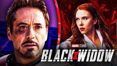 Black Widow Tony Stark Robert Downey