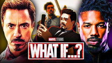 Tony Stark  Killmonger