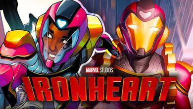 Ironheart Marvel Logo