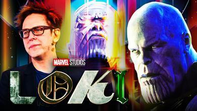 James Gunn, Thanos, Loki logo