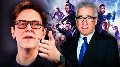 James Gunn Martin Scorsese