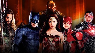 Justice League Aquaman Batman Wonder Woman Flash Cyborg Darkseid