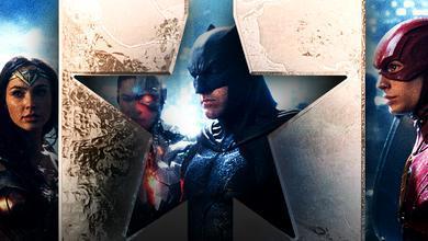 Wonder Woman, Cyborg, Batman, The Flash
