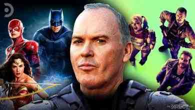 Justice League, Suicide Squad, and Michael Keaton