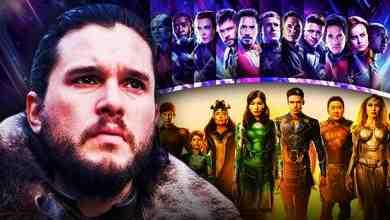 Kit Harington Avengers Eternals Movie