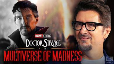 Director Scott Derrickson and Doctor Strange In The Multiverse Of Madness