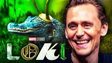 Loki Alligator Tom Hiddleston