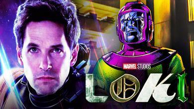 Ant-Man Kang Loki logo TVA