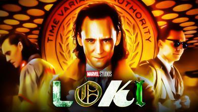 Loki Series Background Poster