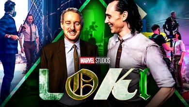 Loki Tom Hiddleston Owen Wilson Set Photos