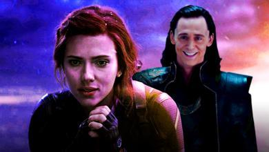 Black Widow and Loki