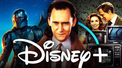 Disney Plus Shows Loki WandaVision Mandalorian