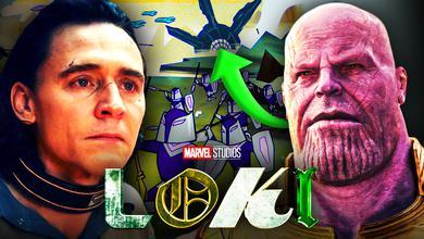 Loki Thanos Easter Egg