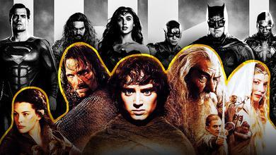 Justice League Lord of the Rings