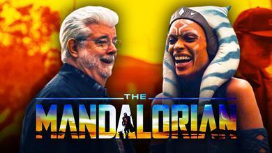 The Mandalorian George Lucas Visit