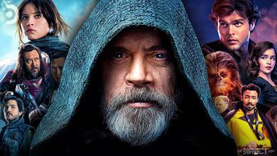 Mark Hamill Luke Skywalker Star Wars Films