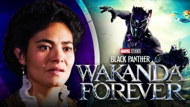Black Panther: Wakanda Forever logo, Mabel Cadena, Black Panther