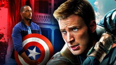 Captain America Chris Evans Anthony Mackie