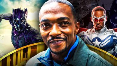 Captain America Anthony Mackie Black Panther