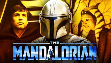 The Mandalorian Luke Skywalker Ahsoka