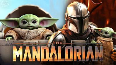 The Mandalorian and The Child Hot Toys figures