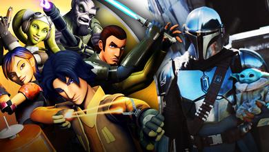 Star Wars Rebels, Mandalorian and Baby Yoda
