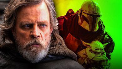 Mark Hamill as Luke Skywalker, Mando and Grogu