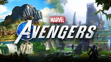 Marvel's Avengers Logo Wakanda Black Panther