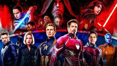 Marvel, Star Wars, Avengers