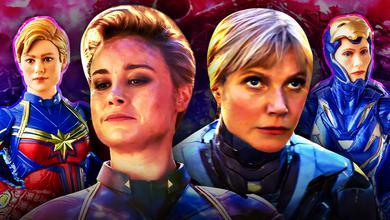 Brie Larson Captain Marvel Gwyneth Paltrow Rescue