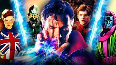 MCU multiverse Doctor Strange Spider Man
