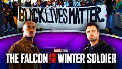Falcon and Winter Soldier Black Lives Matter