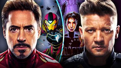 Tony Stark Iron Man Ironheart Echo Hawkeye
