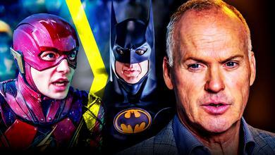 Michael Keaton, Batman, The Flash