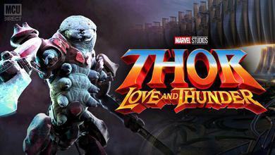 Miek will be female in the MCU and attempt to blend in with humans in THOR: LOVE AND THUNDER.