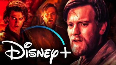 Obi Wan Kenobi Disney Plus Logo