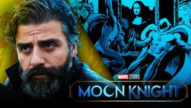 Oscar Isaac, Midnight Man vs. Moon Knight in Marvel Comics, Moon Knight logo