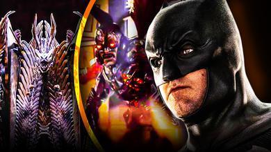 Batman Parademons Justice League